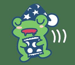 Hop Step Cute Frog sticker #1478824