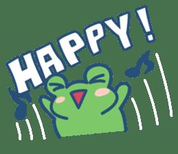 Hop Step Cute Frog sticker #1478827