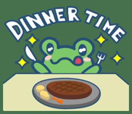 Hop Step Cute Frog sticker #1478828