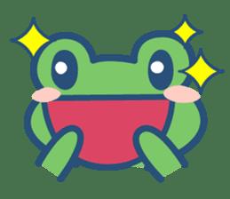 Hop Step Cute Frog sticker #1478837