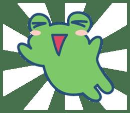 Hop Step Cute Frog sticker #1478839
