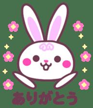 Response of a rabbit sticker #1479761