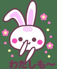 Response of a rabbit sticker #1479782