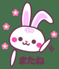 Response of a rabbit sticker #1479795