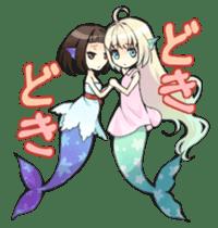 Mermaid sticker #1482240
