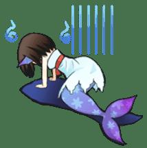 Mermaid sticker #1482243