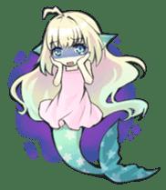 Mermaid sticker #1482244