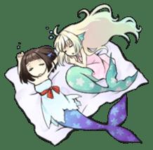 Mermaid sticker #1482247