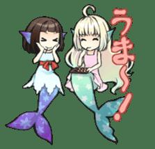 Mermaid sticker #1482248