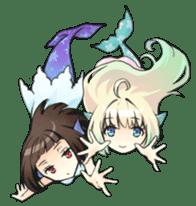 Mermaid sticker #1482250
