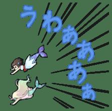 Mermaid sticker #1482251