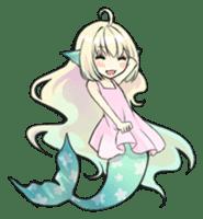 Mermaid sticker #1482252
