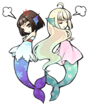 Mermaid sticker #1482254