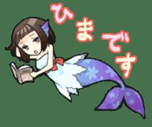 Mermaid sticker #1482271