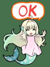 Mermaid sticker #1482275