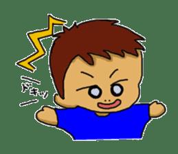 diva a boy Sticker sticker #1483017