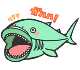 Creature of the deep sea sticker #1483761
