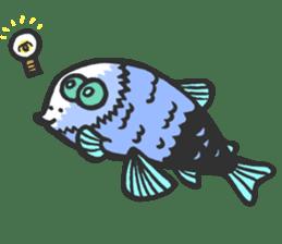 Creature of the deep sea sticker #1483764