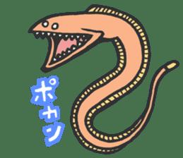 Creature of the deep sea sticker #1483766