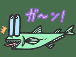 Creature of the deep sea sticker #1483769