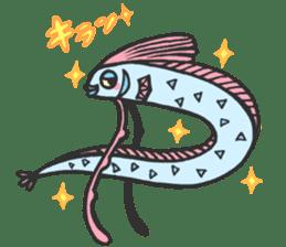 Creature of the deep sea sticker #1483771