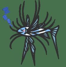 Creature of the deep sea sticker #1483778