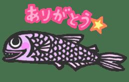 Creature of the deep sea sticker #1483779