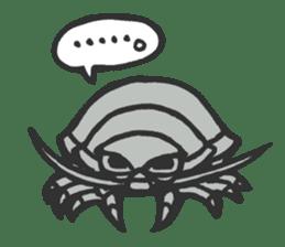 Creature of the deep sea sticker #1483784