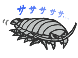 Creature of the deep sea sticker #1483785