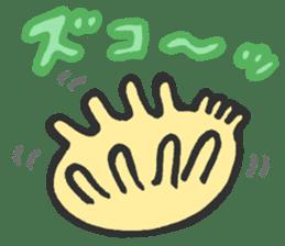 Creature of the deep sea sticker #1483786