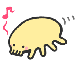 Creature of the deep sea sticker #1483787