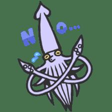 Creature of the deep sea sticker #1483791