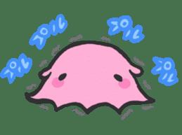 Creature of the deep sea sticker #1483799