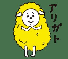 sheep mery sticker #1485200