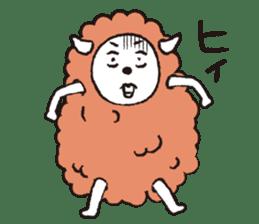 sheep mery sticker #1485201