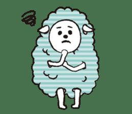 sheep mery sticker #1485208