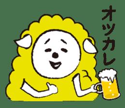 sheep mery sticker #1485213
