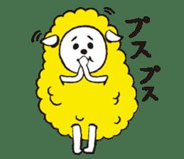 sheep mery sticker #1485217