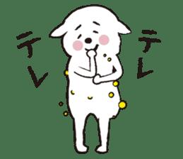 sheep mery sticker #1485220
