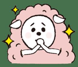 sheep mery sticker #1485222