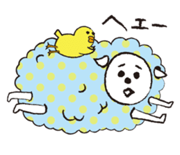 sheep mery sticker #1485225