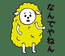 sheep mery sticker #1485228