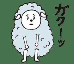 sheep mery sticker #1485229