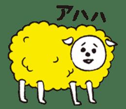 sheep mery sticker #1485231