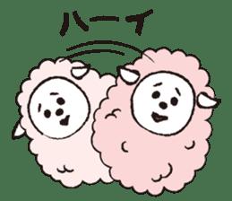sheep mery sticker #1485232