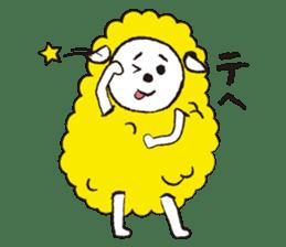 sheep mery sticker #1485233