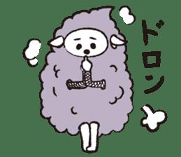 sheep mery sticker #1485237
