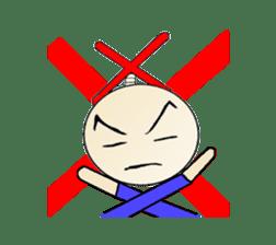 Samurai fuss stamp and Kuroko sticker #1485921