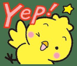Backchannel chick sticker #1486000