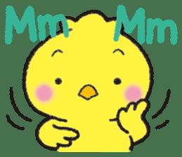 Backchannel chick sticker #1486005
